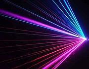 Un raggio laser